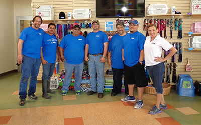 Volunteer for a Day -Equipment Depot