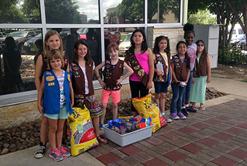 Brownie Troop #448