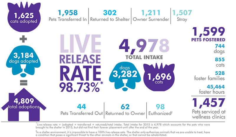 2015 live release rate
